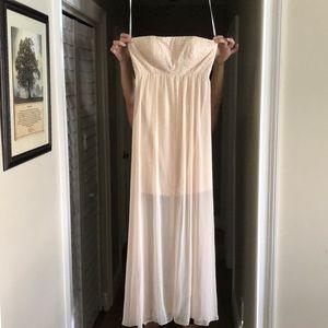 CALVIN KLEIN maxi formal dress sz 8